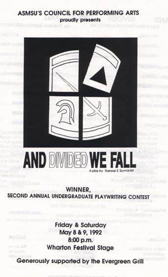 Front cover of premiere program.